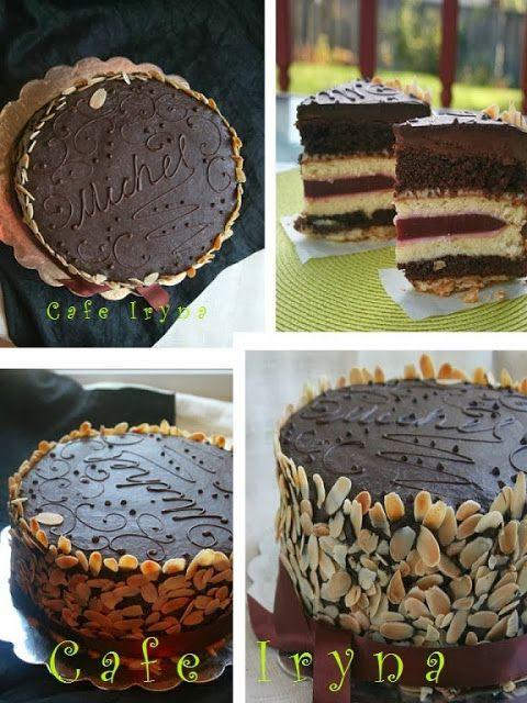 Сafe Iryna: Многослойный торт от МИШЕЛЬ