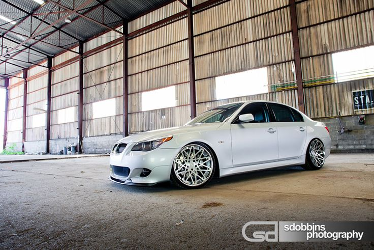 Sdobbins Photography  BMW 545i Model: E60 Color: White  Mod List Rotiform BLQs [3pcs]  Related pictures