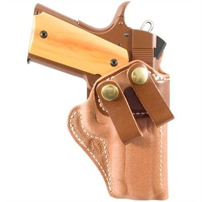 Highly Concealable, Comfortable, All Day Carry   Classic inside the waistband holster offers optimum concealment and comfort. Open top style for a quick draw; wet molded to an exact fit for excellent retention. Steel reinforced top always remains open for easy, one hand reholstering. [brownells.com #brownells #fathersday]