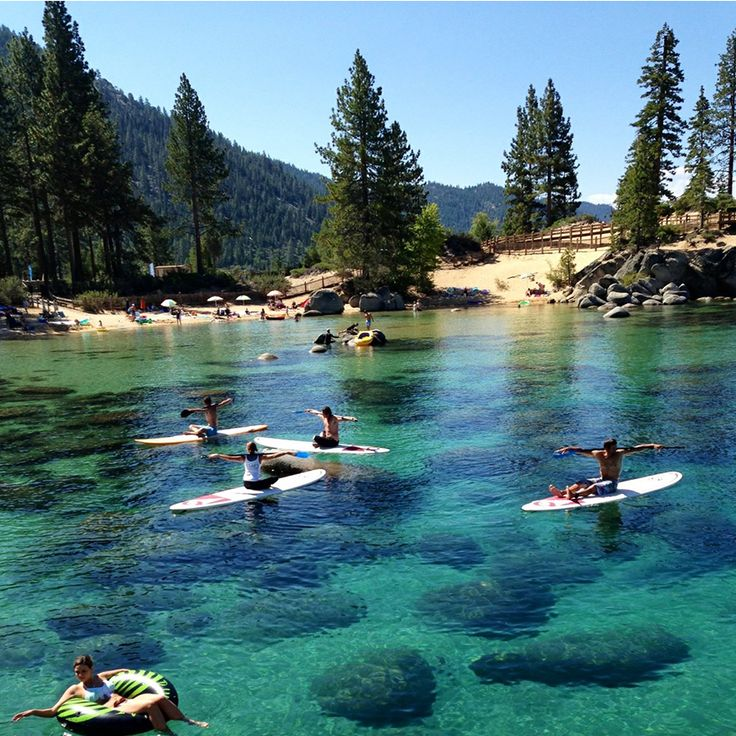 Lake Tahoe Vacation Rentals On The Water: 46 Best Lake Tahoe Paddleboarding Images On Pinterest