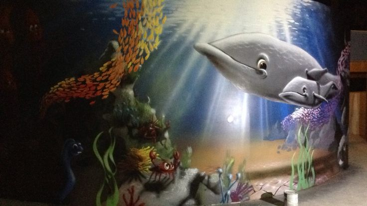 17 best images about mural shark aquarium on pinterest for Bineau mural levallois perret