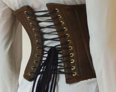 How to Make a Steampunk Corset Great instructions Requires steel boning!