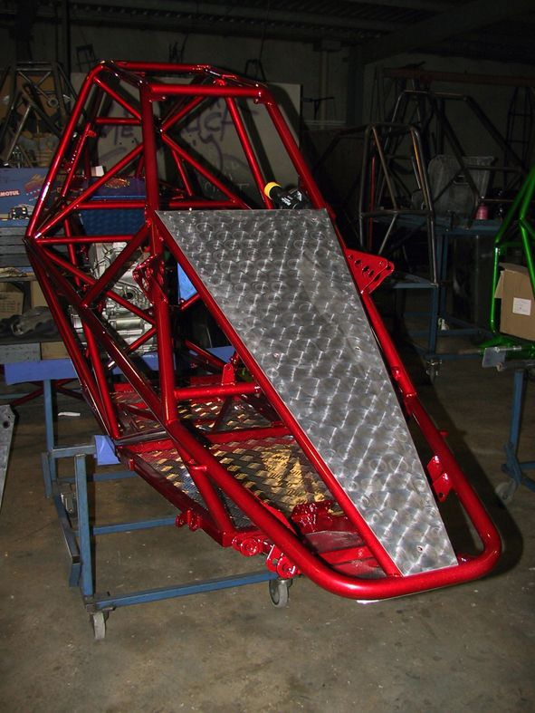The Edge Barracuda Chassis Frame Karts And Stuff