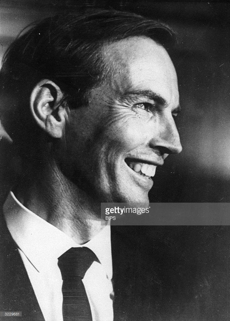 Dr Christiaan Barnard (1922 - 2001), South African pioneer of the heart transplant.