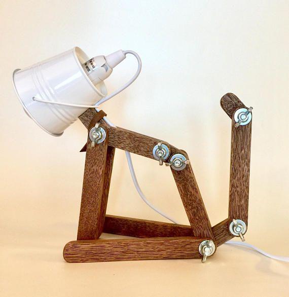 Wooden Lamp Animal Lamp Kids Lamp Childrens Lamps Desk Lamp