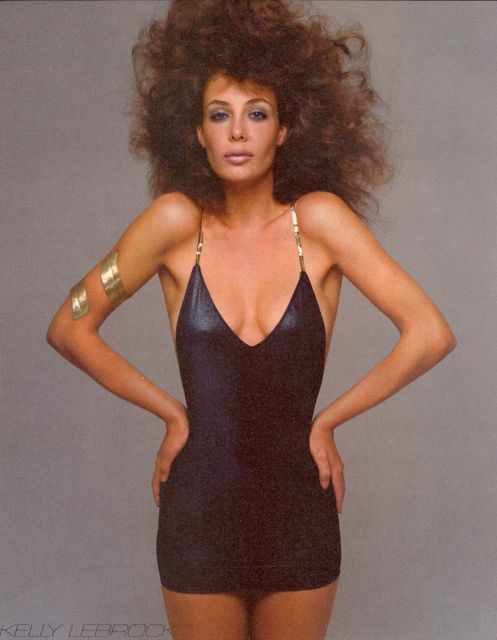 Kelly LeBrock, Vogue April 1981. Photograph by Richard Avedon