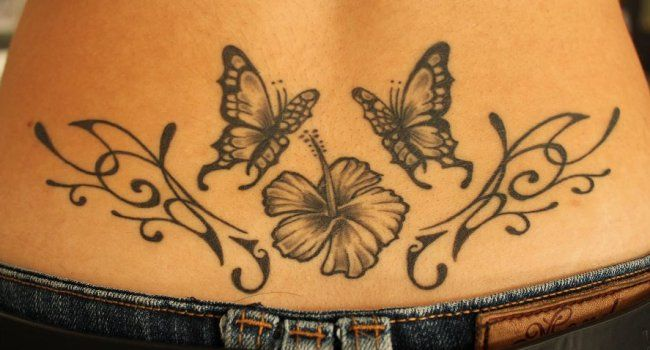 129 best tatouage japonais images on pinterest polynesian tattoos tattoo ideas and tattoo - Tatouage fleur dos ...