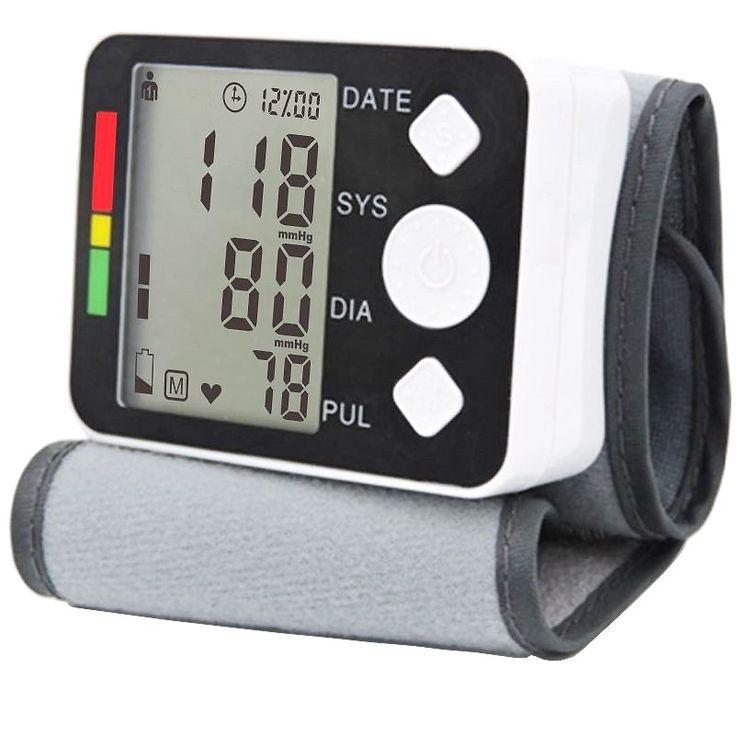 2016 Digital  blood pressure monitor portable Automatic Sphygmomanometer blood pressure meter for home health care measurement - http://mixre.com/product/2016-digital-blood-pressure-monitor-portable-automatic-sphygmomanometer-blood-pressure-meter-for-home-health-care-measurement/