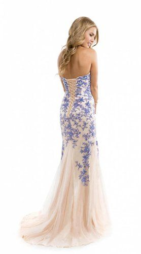 Miranda Blue Evening Prom Ball Dress Strapless Lace up Gown Size 4-14 (8) Miranda http://www.amazon.com/dp/B00JWUIGUA/ref=cm_sw_r_pi_dp_Sxpnvb0MKWRNJ