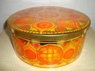 FROM: www.TRENDYenser.com IRA retro tin from the 70s designed by Anita Wangel. IRA retro dåse fra 70'erne. #ira #denmark #danmark #tin #daase #anita #wangel #retro #kitchenware