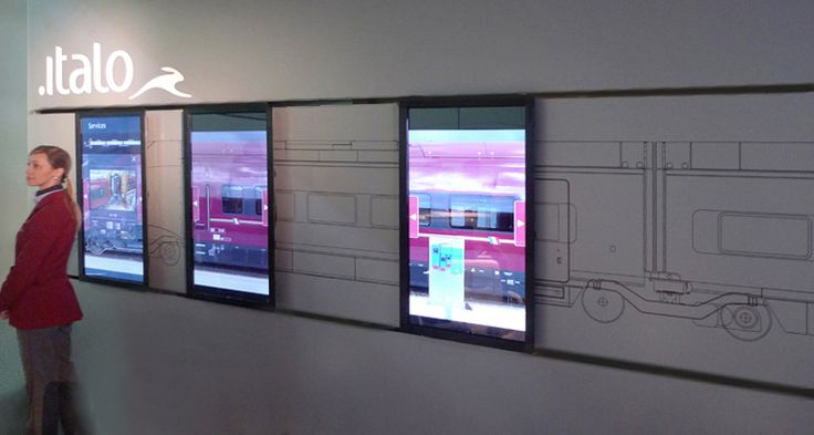 Dynamic and interactive exhibition for NTV Nuovo Trasporto Viaggiatori InnoTrans, Messe Berlin, September 2012 ArteFiera, Bologna, January 2013   NTV Interactive Wall is a project in collaboration with architecture studio DONTSTOP. The idea is that to convey to […]