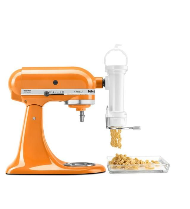 KitchenAid Stand Mixer Accessories You Didn't Know You Needed: Gourmet Pasta Press