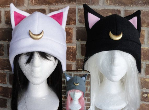 Luna Artimus Diana Luna P  Sailor Moon Hat    Costume by Akiseo, $16.00 - so effing cute i want one. may make my own!