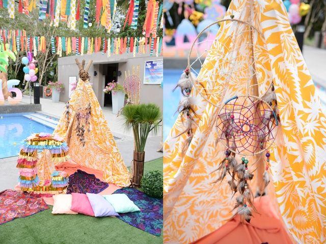 Caitlin's Coachella Themed Party – Photo Op
