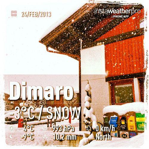 Quest'inverno non ci possiamo proprio lamentare... Sempre più #neve in #trentino ! ;-) - this year we really can't complain about #snow ! ;-)
