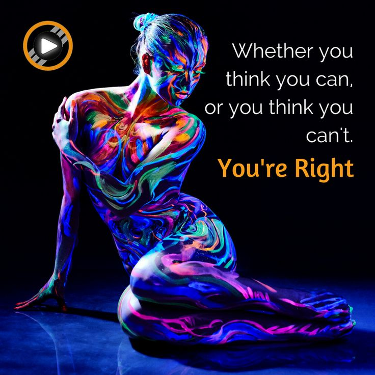 As soon as you think you can't do it, you're right! #motivation #inspiration #quote #capacity #ability