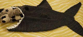 Shark Tale Cocoon Crochet Pattern Free : Crochet shark, Sweet nothings and Sharks on Pinterest