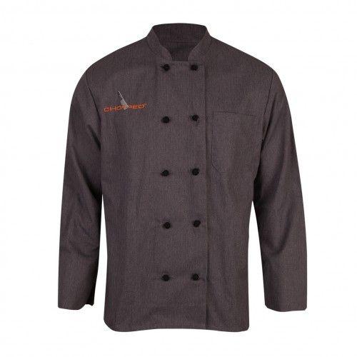 Chopped Chef's Jacket, Grey