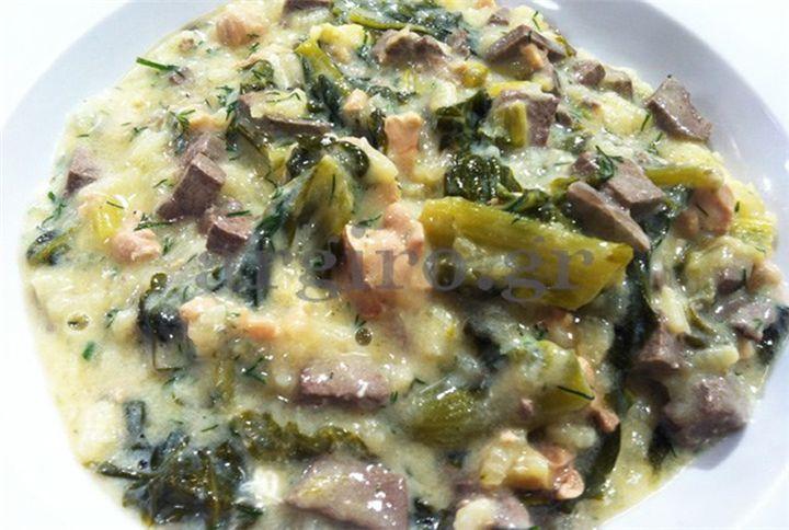 Πεντανόστιμη Παριανή Μαγειρίτσα!!! - Filenades.gr