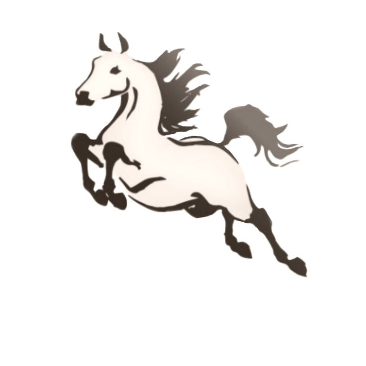 ... Horse Tattoos on Pinterest | Clip art, Graphics and Horse illustration