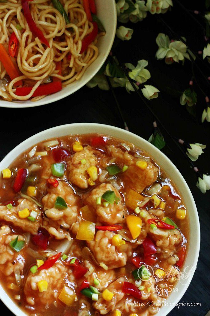 about Gobi Manchurian Gravy Recipe on Pinterest | Gobi Manchurian ...