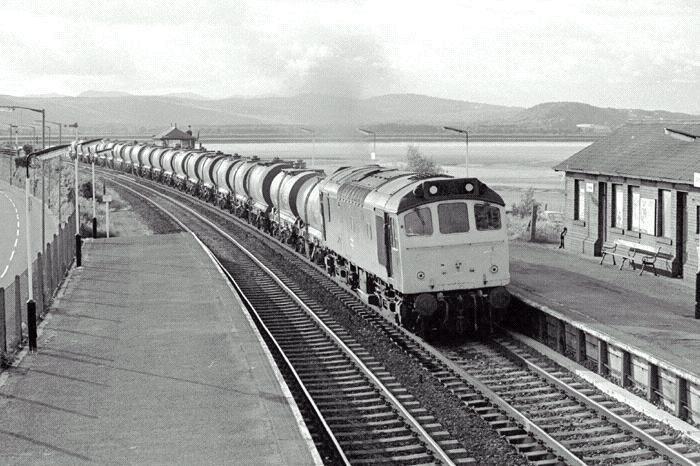 Arnside Railway Station, 1985
