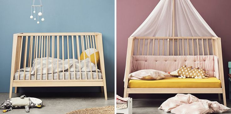 This Baby Cot Is Designed To Transform Into A Bed And Couch As The Child Grows | CONTEMPORIST