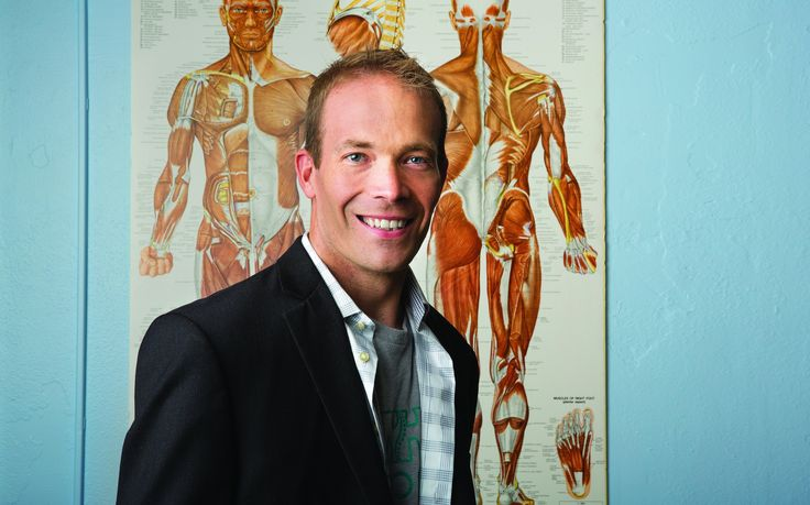 Former quadriplegic Chris Leeuw brings his story and his passion to NeuroHope, a one-of-a-kind clinic for spinal injury recovery in Fountain Square.