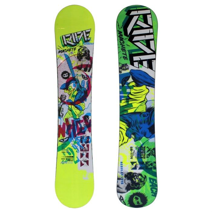 Ride - Le Machete LTD Wide Rocker Snowboard 2010