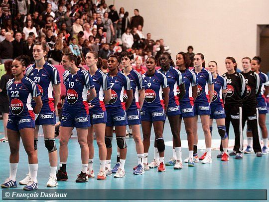 équipe de France Féminine.