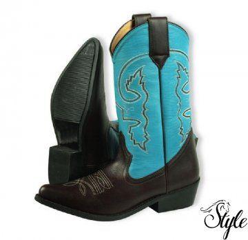 SILVER HORSE női western csizma LIza Blue