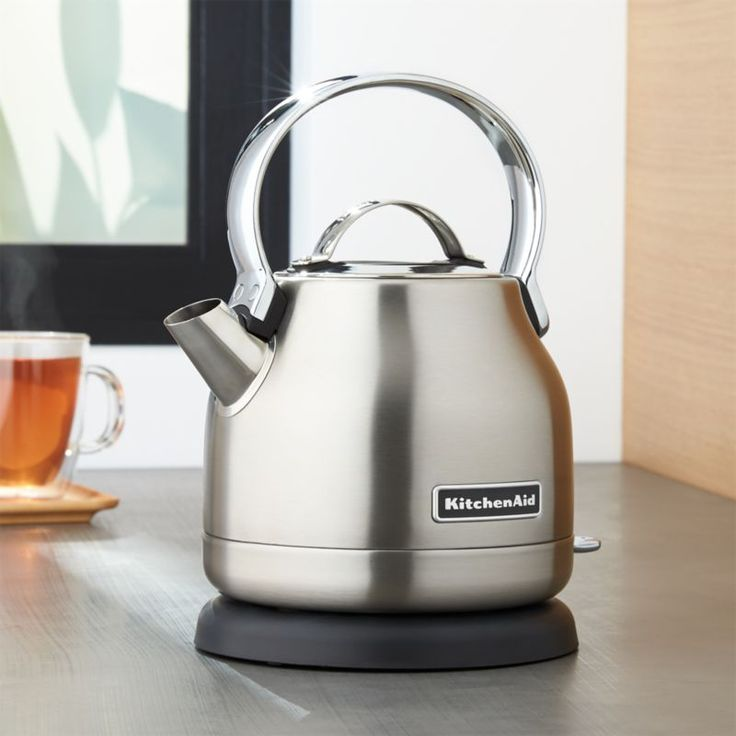 Kitchenaid Silver Electric Kettle Reviews Crate And