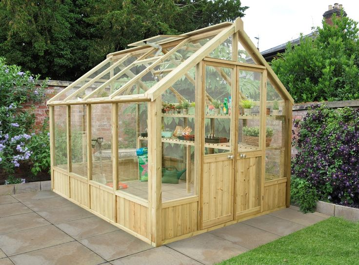 17 best images about grow your own on pinterest raised for Garden greenhouse designs