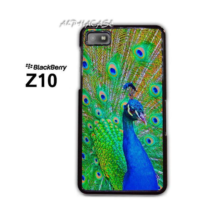 Peacock BB BlackBerry Z10 Z 10 Case