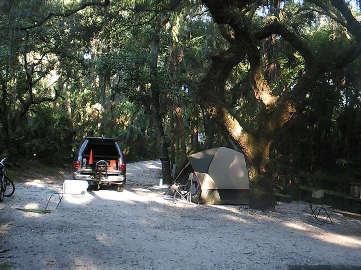 Lithia Springs Park Campground- 4 river sites - first come first serve