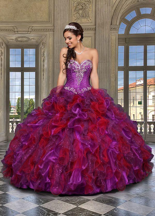 18 best vestidos de 15 images on Pinterest | Vestido de 15 año ...