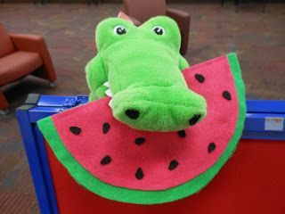 Storytime with Miss Tara and Friends: The Watermelon Seed - Flannel Friday
