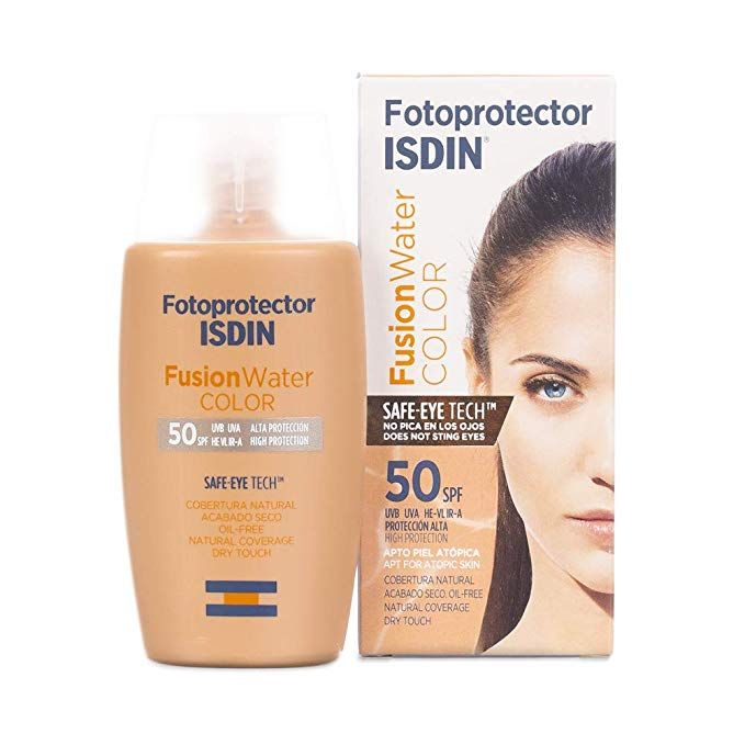 Fotoprotector Isdin Fusion Water Color Spf 50 50ml Amazon Es