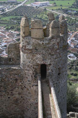 Castillo de Burguillos del Cerro, Badajoz.
