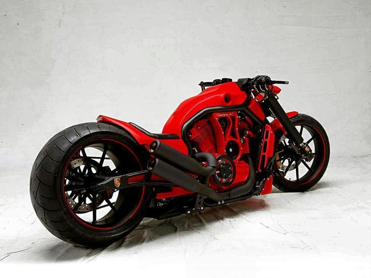 Don't know who make this bike, but I think Porsche Engginer make the modification. Woooow..... The colour is very very sexy