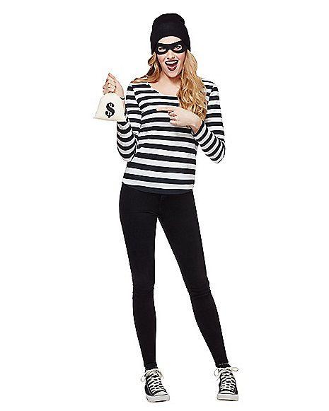Adult Burglar Costume - Spirithalloween.com