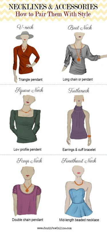 Necklines and Accessories: Pairing them with style