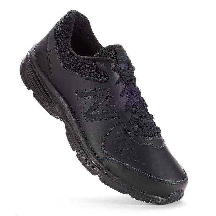 New Balance 411 v2 Men's Walking Shoes, Size: 10.5 W 2E, Black