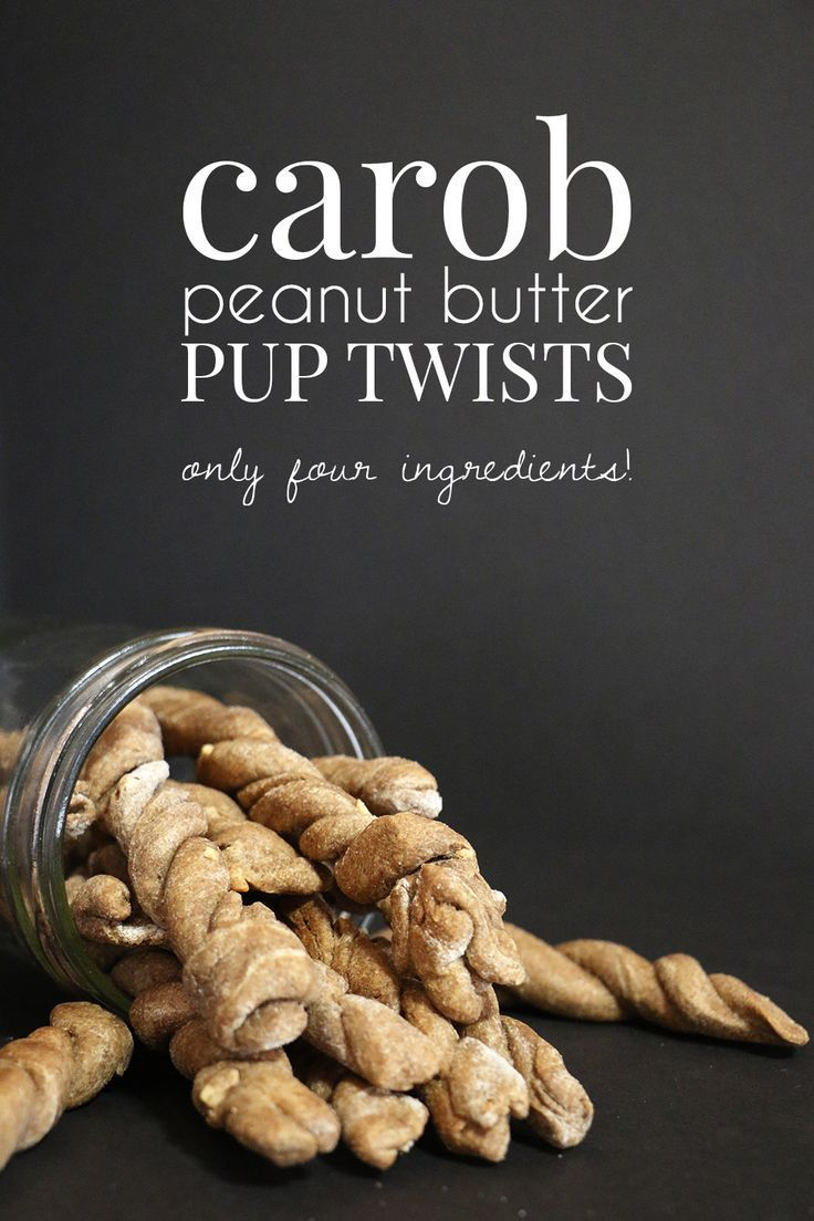 Carob Peanut Butter Pup Twists Recipe Butter, Blog and