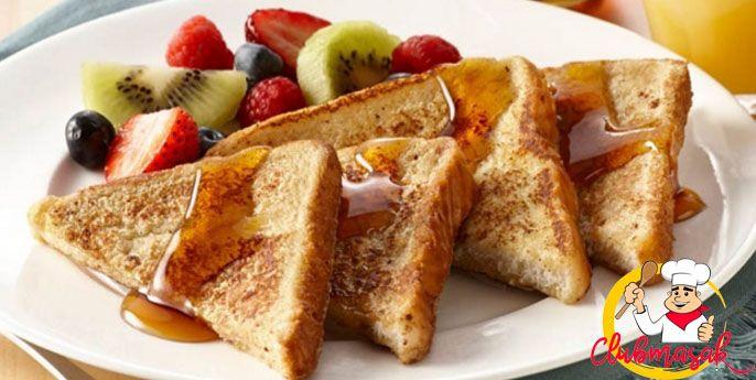 Resep French Toast, Recipe French Toast, Club Masak
