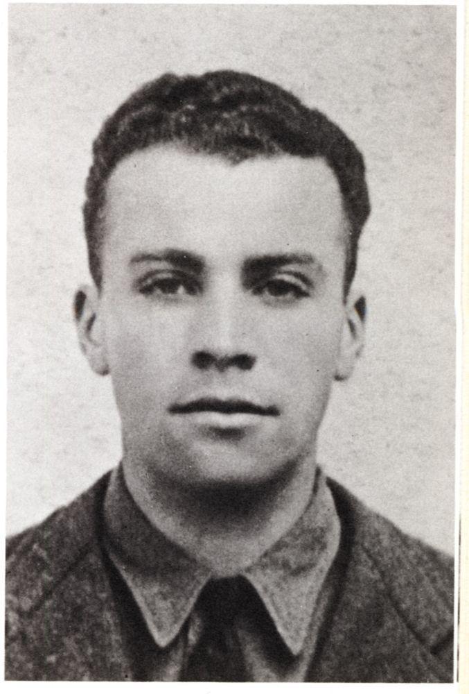 Marseille, sous l'occupation. Michel Lancesseur, résistant très probablement fusillé à Signes, après avoir été arrêté par les agents du SIPO-Sd (Gestapo) sous les ordres d'Ernst Dunker dit Delage.