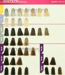 image result for matrix hair color swatch book - Matrix So Color Swatch Book