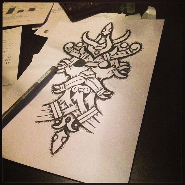 Odin tattoo idea