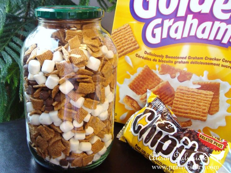 S'mores Snack Mix. Road trip snack