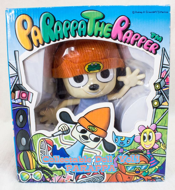 Parappa The Rapper Parappa Collectable Doll Figure Medicom
